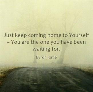 Come home to self