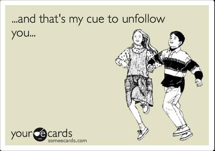 Friend Unfollow