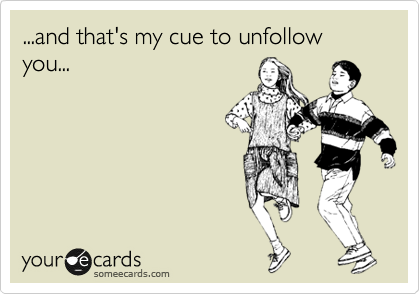Friend Unfollow