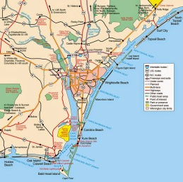 Coastal Island Map